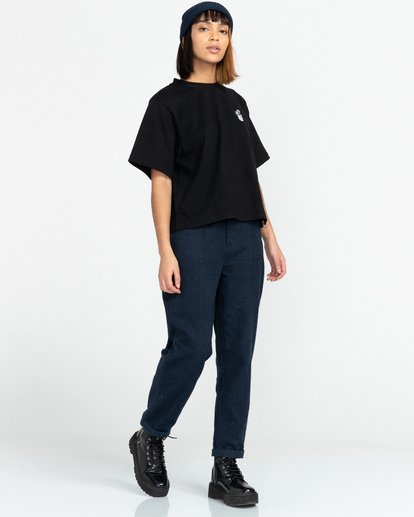 3 Minimal - T-Shirt for Women Black Z3KTC1ELF1 Element