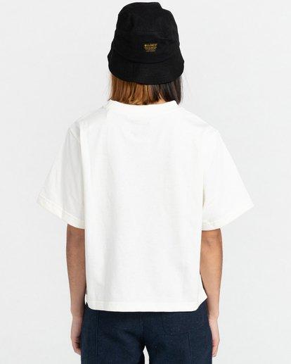 4 Minimal - Camiseta para Mujer Beige Z3KTC1ELF1 Element