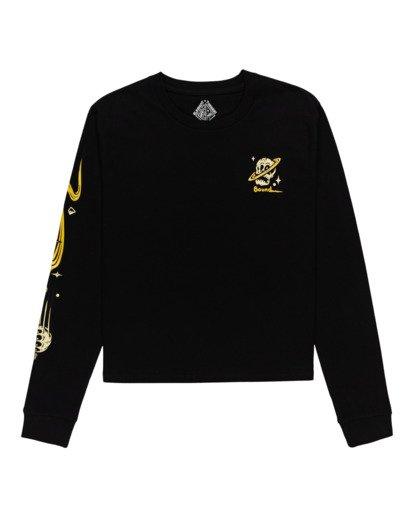 0 Transender - Long Sleeve T-Shirt for Women Black Z3LSB6ELF1 Element