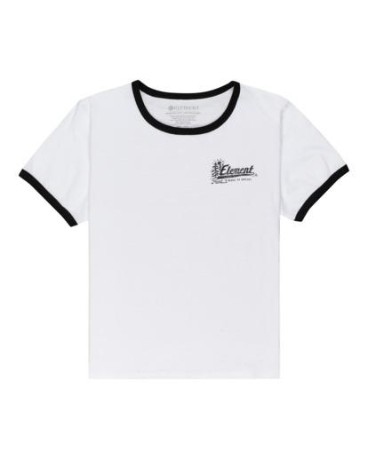 0 Baleek - Camiseta para Mujer Blanco Z3SSD2ELF1 Element