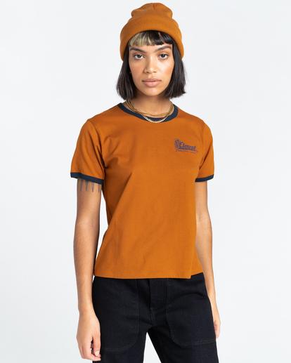 1 Baleek - T-Shirt for Women Beige Z3SSD2ELF1 Element