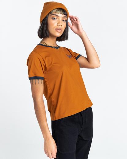 2 Baleek - T-Shirt for Women Beige Z3SSD2ELF1 Element