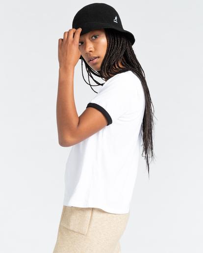 2 Baleek - Camiseta para Mujer Blanco Z3SSD2ELF1 Element