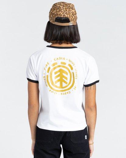 4 Casco - T-Shirt for Women White Z3SSD3ELF1 Element