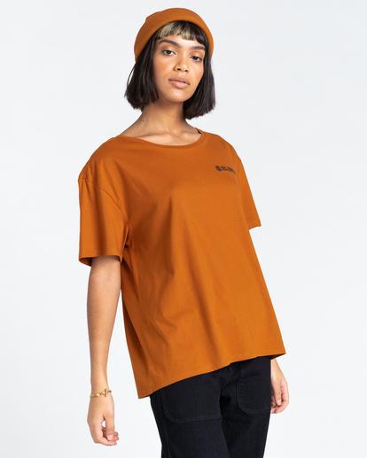 2 Blazin Chest - T-Shirt for Women Beige Z3SSD4ELF1 Element