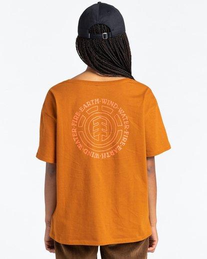 4 Exley - T-Shirt for Women Beige Z3SSD6ELF1 Element