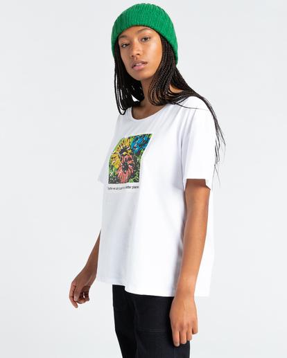 2 Toluca - T-Shirt for Women White Z3SSE2ELF1 Element