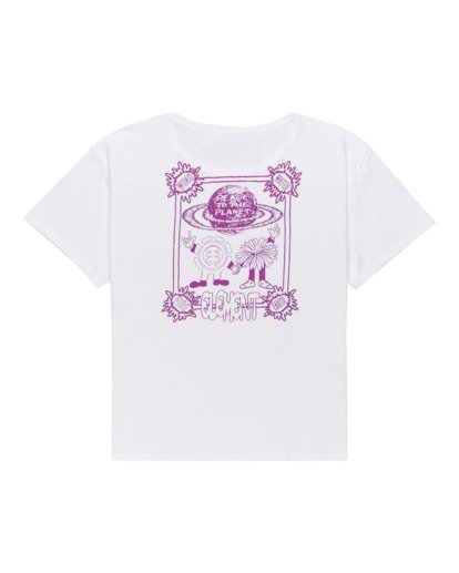 1 Uccello - T-Shirt for Women White Z3SSE4ELF1 Element