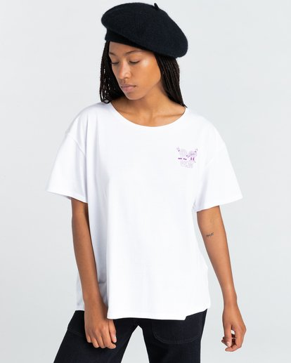 2 Uccello - T-Shirt for Women White Z3SSE4ELF1 Element