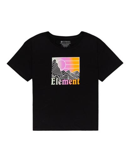 0 Zorano - T-Shirt for Women Black Z3SSE5ELF1 Element