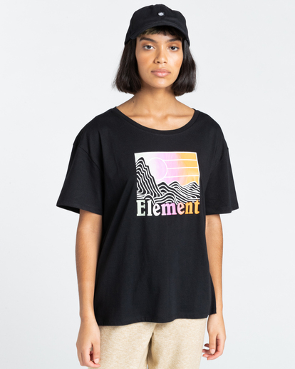 1 Zorano - T-Shirt for Women Black Z3SSE5ELF1 Element