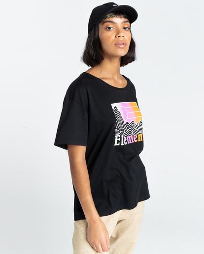 2 Zorano - T-Shirt for Women Black Z3SSE5ELF1 Element