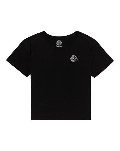 0 Elliptical - T-Shirt for Women Black Z3SSE7ELF1 Element