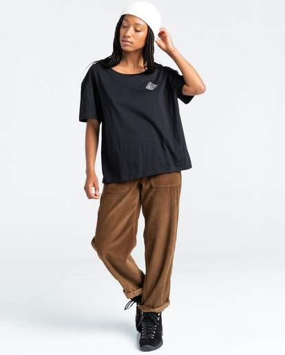 4 Elliptical - T-Shirt for Women Black Z3SSE7ELF1 Element