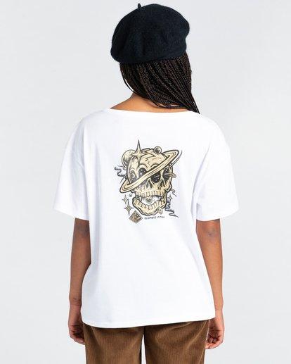 4 Elliptical - T-Shirt for Women White Z3SSE7ELF1 Element