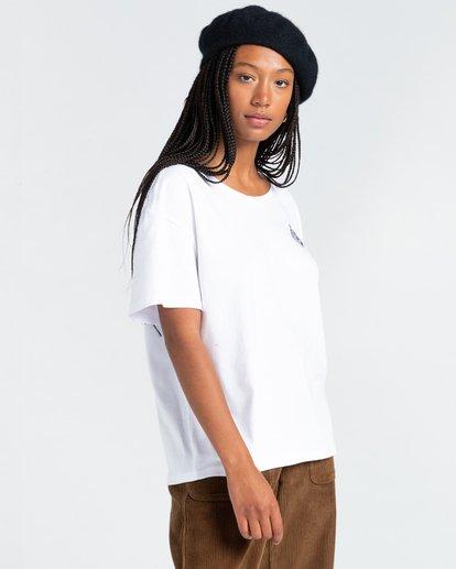 3 Elliptical - T-Shirt for Women White Z3SSE7ELF1 Element