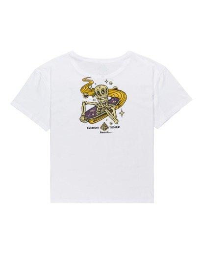 1 Transender - T-Shirt for Women White Z3SSE8ELF1 Element