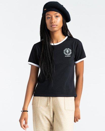 2 Rotation - T-Shirt for Women Black Z3SSE9ELF1 Element