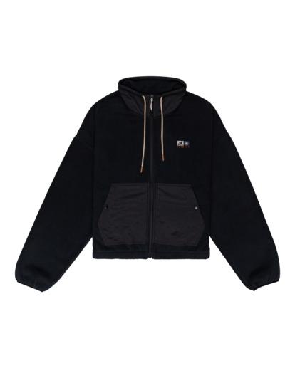 0 Oslo - Zip-Up Sweatshirt for Women Black Z3WAA4ELF1 Element