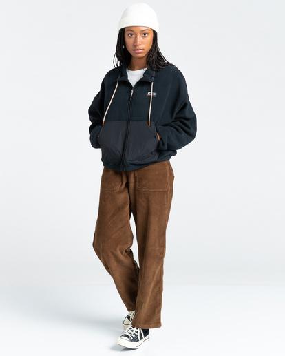3 Oslo - Zip-Up Sweatshirt for Women Black Z3WAA4ELF1 Element