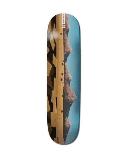 """0 8.25"""" Landscape Na - Skateboard Deck Black Z4DCB1ELF1 Element"""