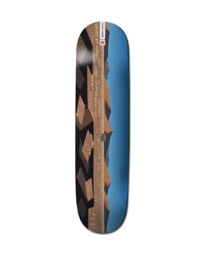 """0 8.25"""" Landscape Africa - Deck de skateboard pour Unisexe Noir Z4DCB3ELF1 Element"""