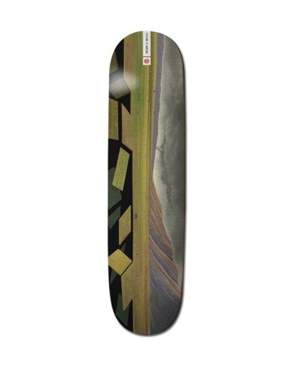 """0 8"""" Landscape Asia - Deck de skateboard pour Unisexe Noir Z4DCB4ELF1 Element"""