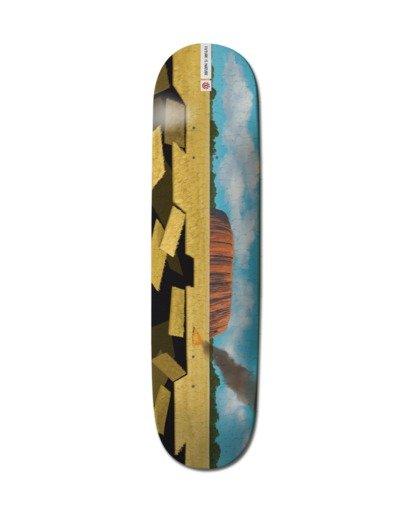 """0 8.25"""" Landscape Oz - Skateboard Deck Black Z4DCB7ELF1 Element"""