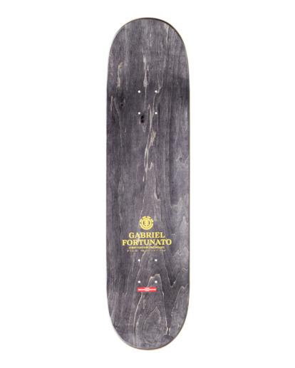 "1 8"" Fortunato Sect - Skateboard Deck Black Z4DCF4ELF1 Element"
