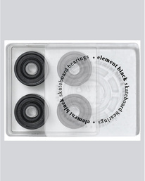 0 Element Blk Bearings - Skate Accessories  04AH18ELPP Element