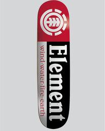 "0 Section 7.75"" - Skate Deck  04DCEEELPP Element"