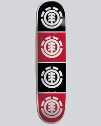 "0 Quadrant 7.75"" - Skate Decks  04DCWTELPP Element"