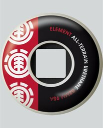 0 Section 52Mm - Skate Accessories Red 04WHE3ELPP Element