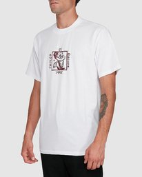 2 NATURAL LAW SHORT SLEEVE TEE White 102004 Element