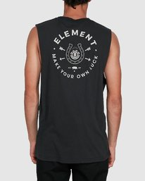 1 MAKE YOUR OWN LUCK MUSCLE TEE  102272 Element