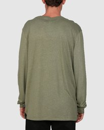 1 STAY HUMBLE LONG SLEEVE TEE Green 105051 Element