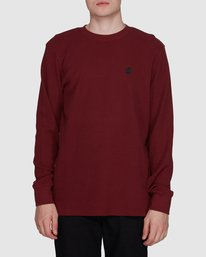 0 Spectra Long Sleeve Tee Red 107051 Element