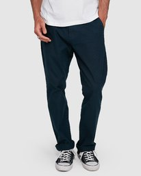 3 MIDTOWN CHINO PANT Blue 107261 Element