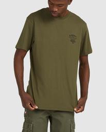 0 Address Short Sleeve Tee Green 112003 Element