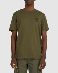 1 Address Short Sleeve Tee Green 112003 Element