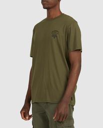 2 Address Short Sleeve Tee Green 112003 Element