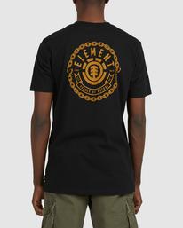 3 Chains Short Sleeve Tee Black 112010 Element