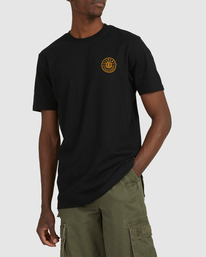 0 Chains Short Sleeve Tee Black 112010 Element