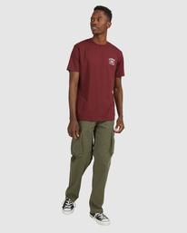 5 Endure Short Sleeve Tee Red 112011 Element