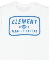 6 Fun Box Short Sleeve Tee White 112012 Element