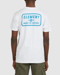 3 Fun Box Short Sleeve Tee White 112012 Element