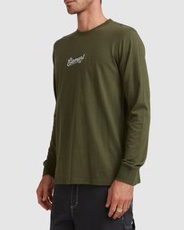 2 SIMPLE TRUTH LONG SLEEVE TEE Green 117053 Element