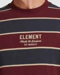 4 LEVEL 3 SHORT SLEEVE TEE Red 117102 Element