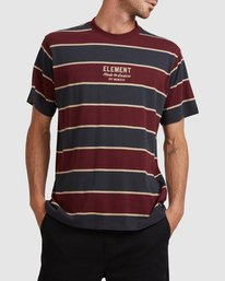 0 LEVEL 3 SHORT SLEEVE TEE Red 117102 Element