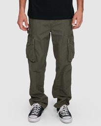 3 Source Cargo Pant Green 134243 Element